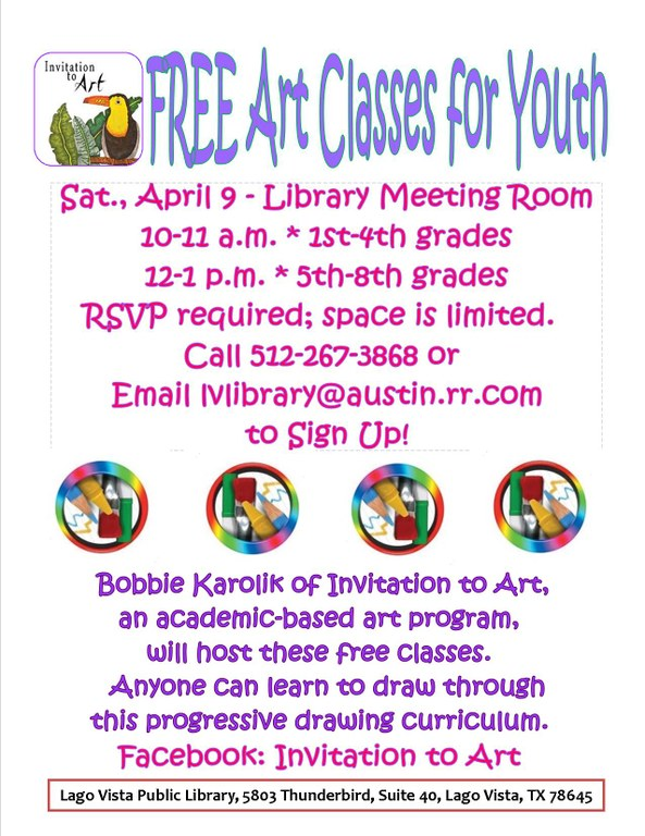 Invitation to Art Free Classes for Youth.jpg