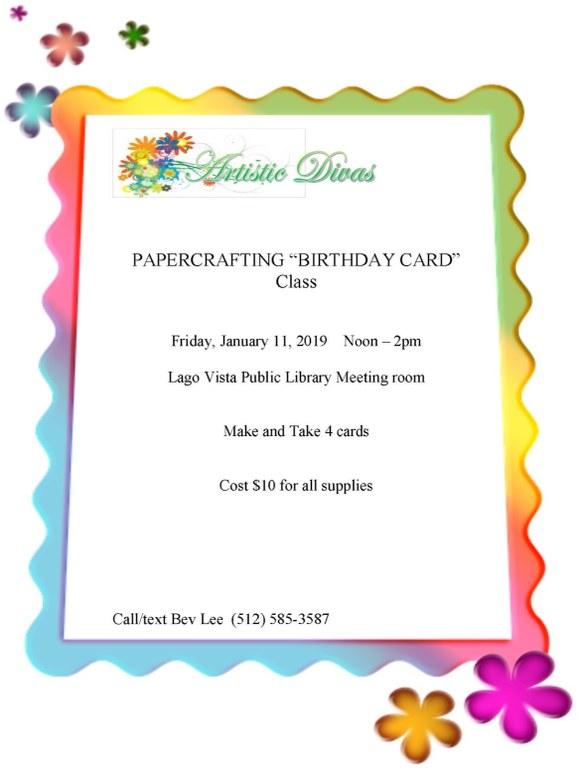 Birthday card class January 11 2019 Flyer w frame.jpg